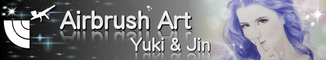 エアブラシ専門店 エアブラシアート Yuki&Jin