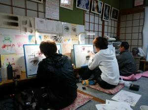 エアブラシ教室